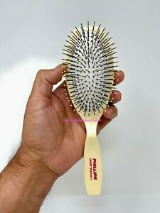 Phillips Hair Brush Light Touch 1 Oval Cushioned Brush Beige 11 Rows of Bristles