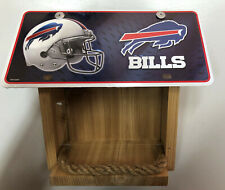 Buffalo Bills License Plate Bird Feeder