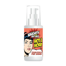 NAUGHTY BUT NICE HOT & HORNY STIMULATING GEL FOR WOMEN – GET WET & AROUSED