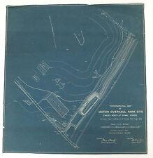 Motor Overhaul Site Epinal Vosges Vintage Original 1918 USGS Topographical Map