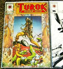VALIANT TUROK DINOSAUR HUNTER #1 MAGNUS ROBOT FIGHTER #25 BAGGED & BOARDED