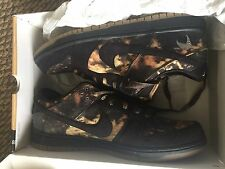 Worn 1X Nike Men's Pushead 2 SB Dunks Size 11.5 w Box & Bag