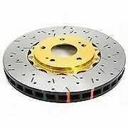 DBA R - for Ford Falcon BA XR6 Turbo XR8/BF FG XR6 GOLD Slotted & Drilled DISCS