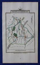 Original antique county map RUTLANDSHIRE, RUTLAND, John Cary, 1828