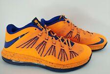Nike Air Max Lebron X 10 Low- Mens- Size 10.5- Knicks- [579765 800]- Basketball
