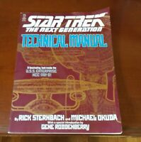 Star Trek The Next Generation Technical Manual USS Enterprise NCC 1701-D 1991