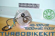 Waterproof Turbo Brushless Dc Electric Motor 8000Watt 8Kw 48volt-100volt
