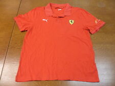 Red Ferrari Scuderia Felipe Massa Polo Shirt Large