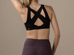 Lululemon Enlite Sports Bra Size 36C Black