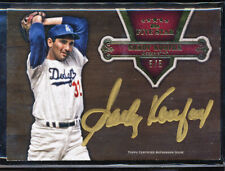 2012 TOPPS FIVE STAR SANDY KOUFAX GOLD INK AUTO 5/5 ONE OF THE BEST CARDS IN SET