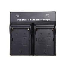 Dual Channel Battery Charger for SONY NP-F970 F750 QM91D FM50 Battery DT