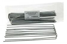 12 Inch Galvanized Garden Staples/Stakes/Pegs Heavy Duty Rust Resistant