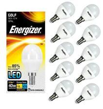 10x Energizer E14 ses Golf LED Bombilla Ópalo 470 LM 5.9 W = 40 W Blanco Cálido 2700k