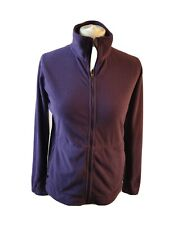 Ladies Rohan purple Half Zip Long Sleeve Fleece Size S