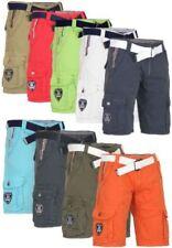 Unifarbene Geographical Norway Herren-Shorts & -Bermudas