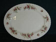 "Royal Albert Lavender Rose 15"" Oval Serving Platter"
