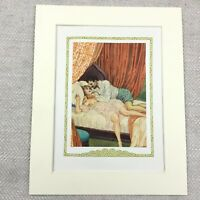 1920 Vintage Erotica Print Don Giovanni Boudoir Lovers Bedroom Love