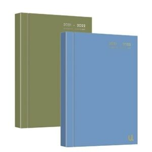 A5 2021-2022 Diary Day to Page Academic Diary Hardback Student School Teacher