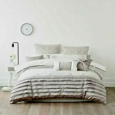 Mercer + Reid Faux Silk Laurette DOUBLE Quilt Cover Set + EUROS RRP:$329.80