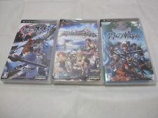 7-14 Days to USA PSP The Legend of Heroes Zero no+Ao no + Nayuta no Kiseki 3 Set