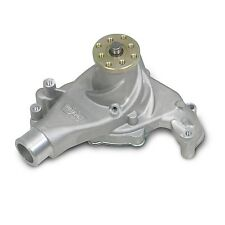 Weiand 9240 Water Pump - Mechanical SBC Long Action Plus - Satin
