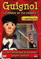 DVD Guignol - 2 spectacles : La bête fantastique du Gévaudan / Guignol dentiste