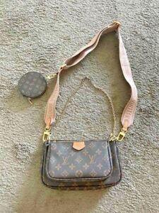 Louis Vuitton Multi Pochette Accessories Crossbody Bags - Rose Clair