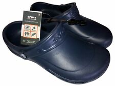 Crocs Blue Slip Resistant Tread Unisex m6/w8 New