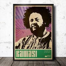 Kamasi Washington Poster Artistico Musica Jazz Sun Ra John Coltrane Flying Lotus