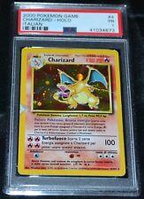 Italiano Holográficos Foil Charizard #4/102 Ilimitado Base Set Pokemon Cartas