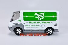 2020 Matchbox Thank You Heroes Navistar eStar Van WHITE / BOX STACKS / MINT