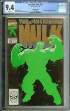 INCREDIBLE HULK #377 CGC 9.4 WHITE PAGES