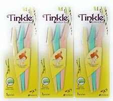 TINKLE EYEBROW RAZOR 9 PIECES by Dorco