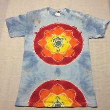 Tye-Dye Small T-shirt Hippie Deadhead Festival Rainbow