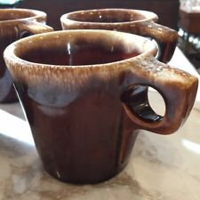 Hull USA Brown Drip Glaze Pottery Oven Proof Coffee Mug Cup 10 oz 20 Available