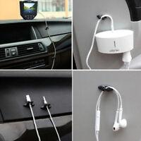 8 X voiture fil cordon clip câble porte cravate fixateur organisateur gouttePO