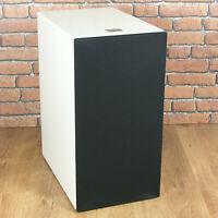 "BK Electronics Double Gem White Subwoofer - Black or White Grille (Grade ""B"")"