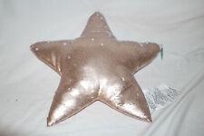 Pillowfort Star Shaped Flipping Sequins Pillow Decorative Pink Glitter Decor