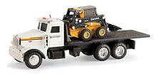 NEW John Deere Peterbilt Model 367 Truck with 320E Skid Steer 1/64 Scale (51309)