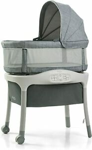 Graco Baby Move n Soothe Bassinet w/ Automatic Calming Motion Mullaly NEW