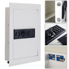 Recessed Secret Hidden Security Cash Jewelry Gun Wall Safe Box Pin & Key Lock