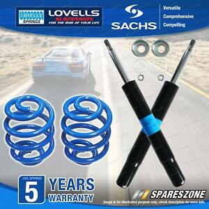 Front Sachs Shocks Lovells Sport Low Springs for Toyota Celica ST204 2.2L 4cyl