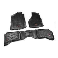 Floor Liner Kit Black Dodge Ram 1500 2500 3500 Quad Cab 2002 to 2012 X 82989.40