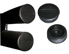 """Smittybilt 3"""" Tube Bumper End Caps for Jeep Tube Bumpers Black"""