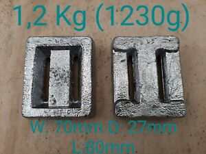 Scuba Diving Weight 1,2 KG Solid Lead