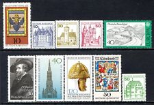 Germany Postage Stamps Scott 1224-1310,10-Stamp MNH Selection!! G1876a