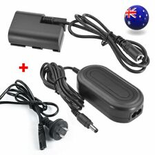 ACK-E6 AC Power Adapter + DC Coupler For Canon EOS 5D Mark II III 7D 60D 70D 80D