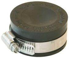 "NEW FERNCO PQC-103 DWV PVC 3"" RUBBER FLEXIBLE PIPE FITTING CAP 6782494"