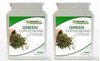 2 x 30 GREEN COFFEE 1000MG BEAN EXTRACT CAPS PILL  DIET WEIGHT LOSS SUPPLEMENT