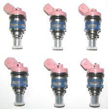 Set of SIX BRAND NEW OEM Nissan Injectors, 1989-92 Maxima 3.0L SOHC, 1660021V02